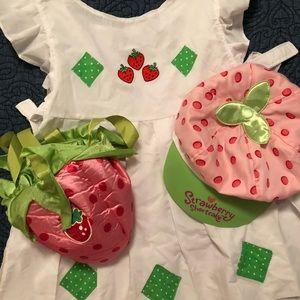 Other - Semi handmade Strawberry Shortcake Costume